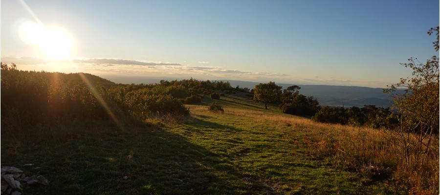 Le jour où nous avons fait une randonnée dans le Luberon Provençal