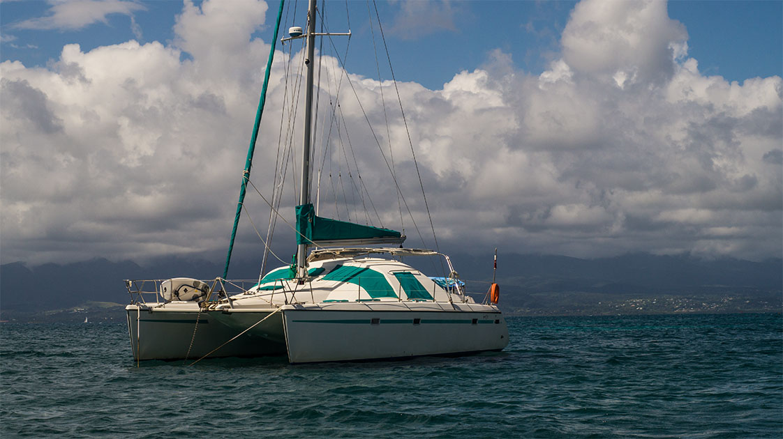 catamaran guadeloupe