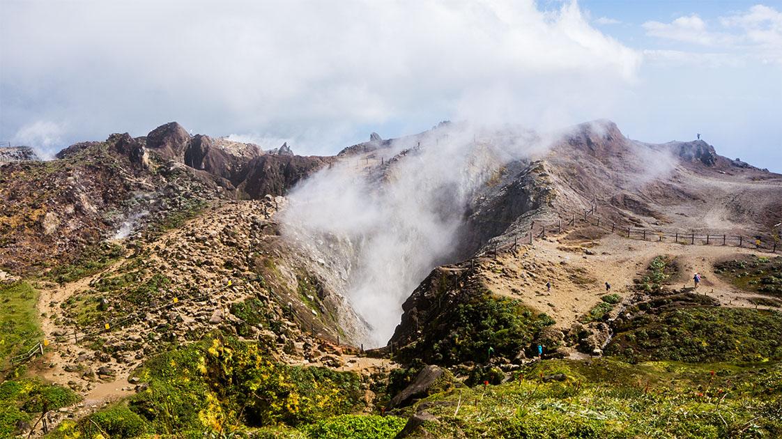 cratère de la soufrière
