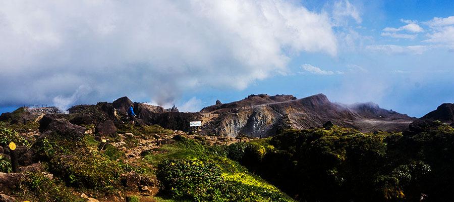 Guadeloupe, Carnet n°2 - De la pointe des châteaux à la Soufrière