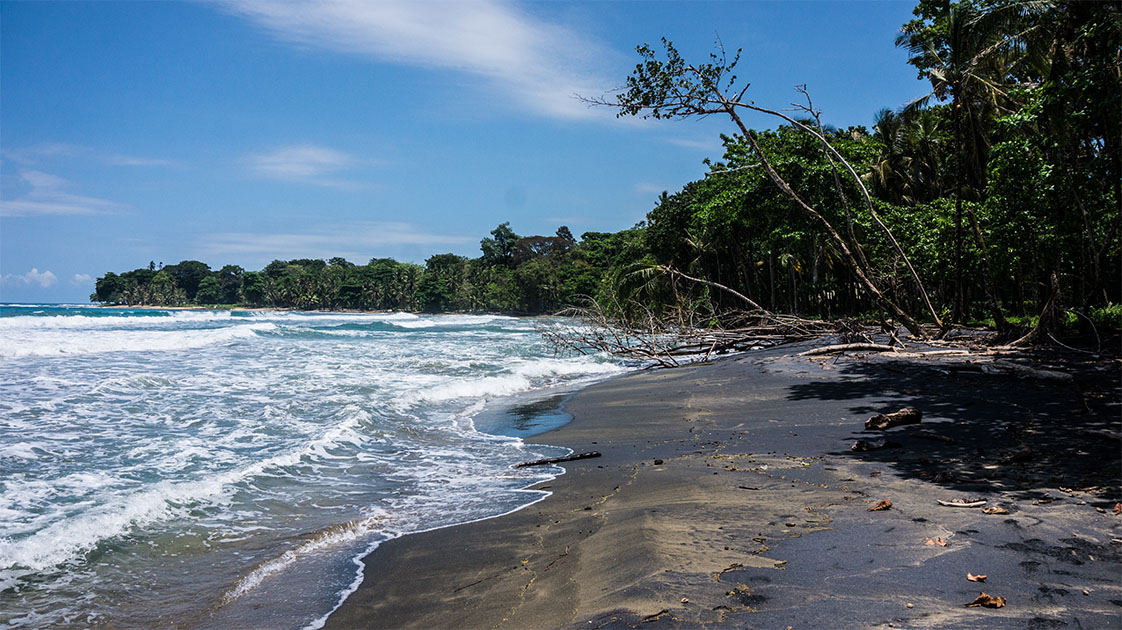 Cote caraïbes Costa Rica