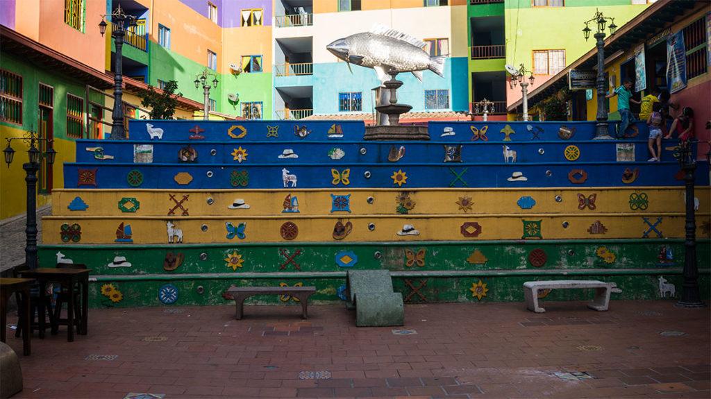 Guatape à deux heures de Medellin