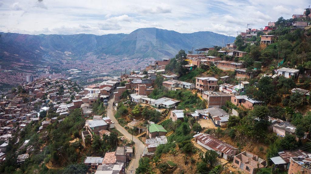Visiter Medellin le Metrocable
