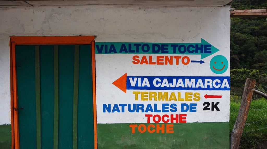 toche vallée cocora colombie