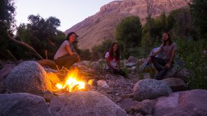 nuit camping a caraveli