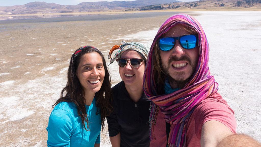 selfie à laguna paranicocha