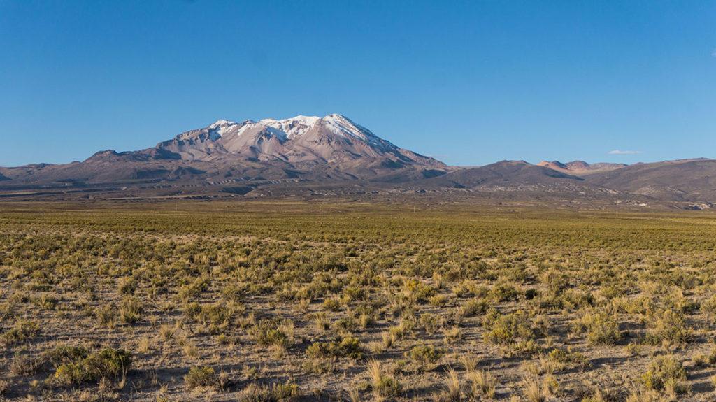 Le volcan Sara Sara