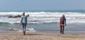 petit tour à la plage, cote pacifique, péruvienne