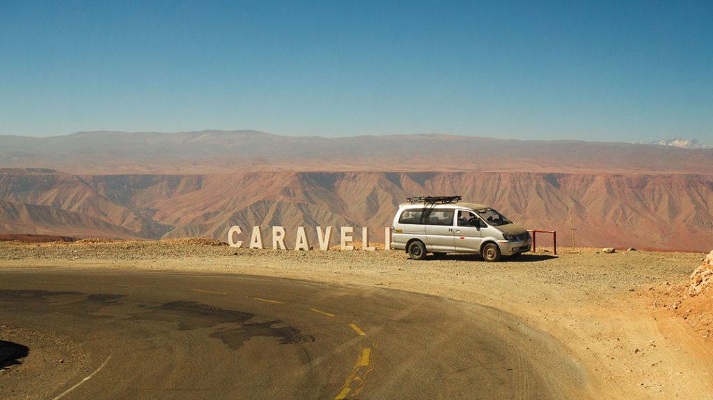 route de caraveli, en stop road trip au perou