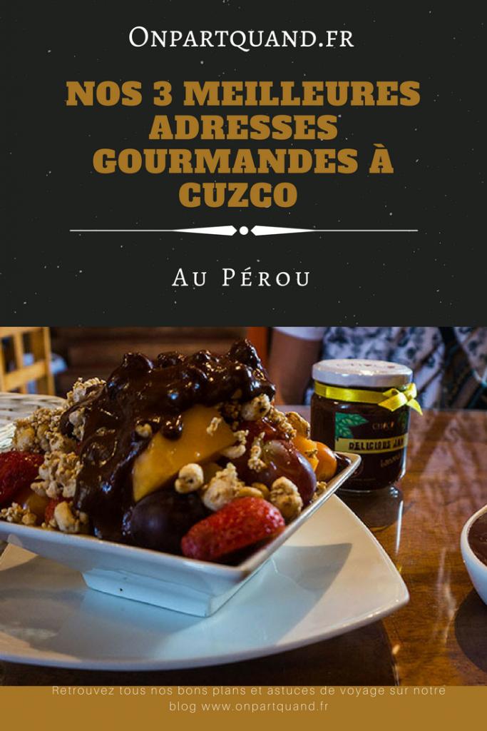 où manger à Cuzco