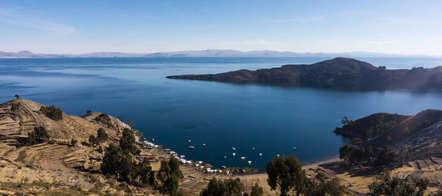 Sur les rives du lac Titicaca : Copacabana et l´Isla del Sol