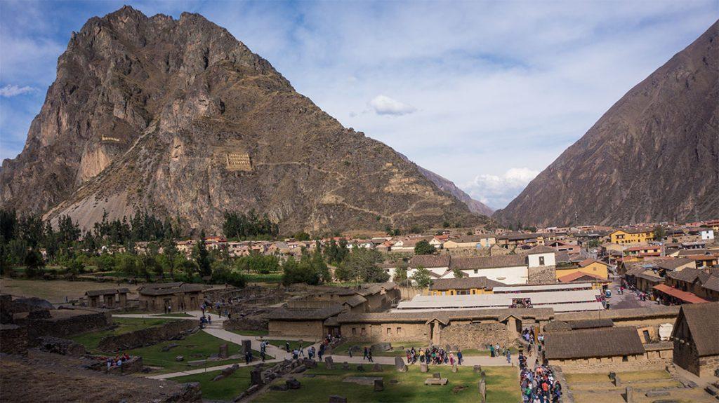 ollantaytambo village vallée sacrée des incas