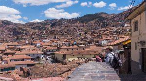 vue des hauteurs de cuzco