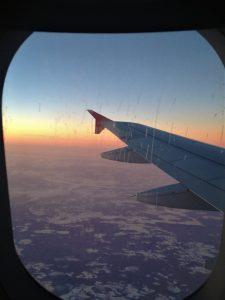 au dessus de l'Europe