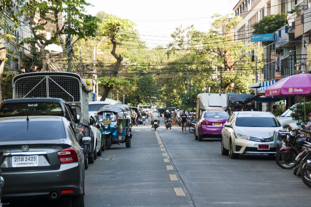 route bangkok