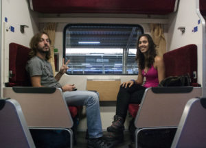 train couchette express Bangkok Chiang Mai