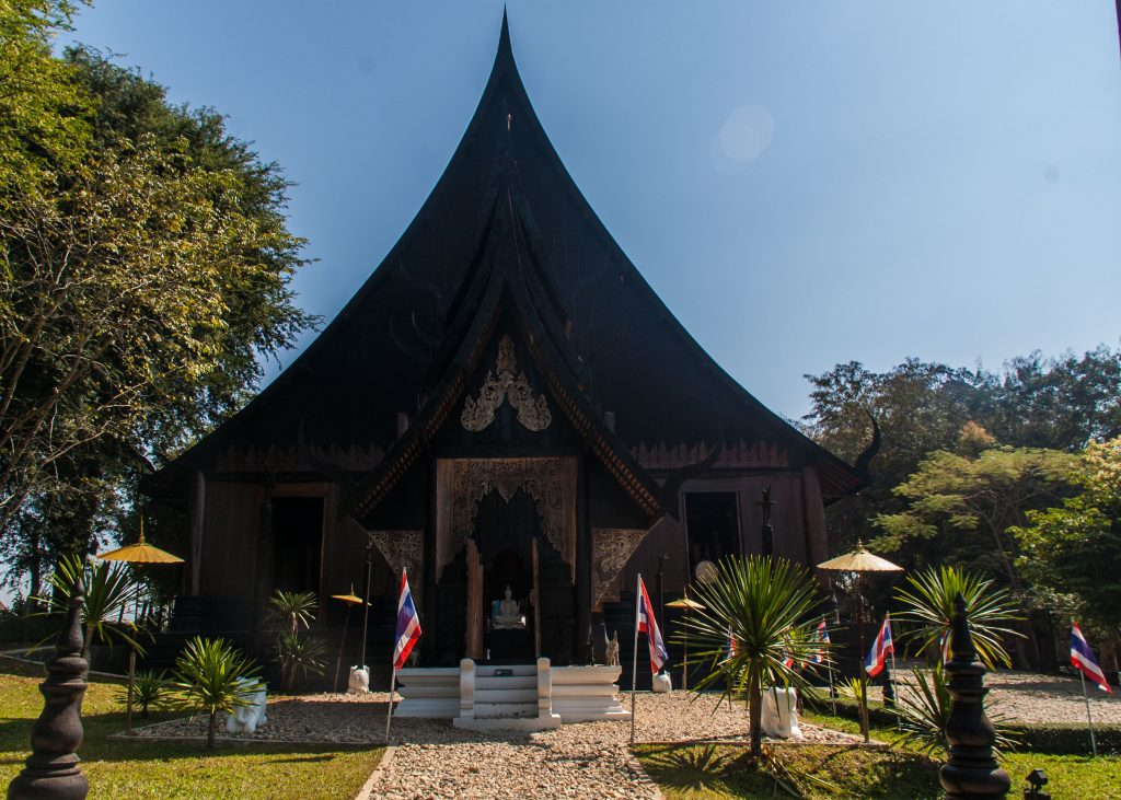 black house baandam museum à Chiang Rai