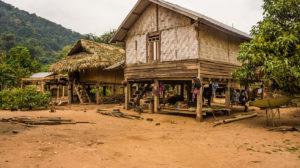 ecovillage nalan trek dans le nord du laos