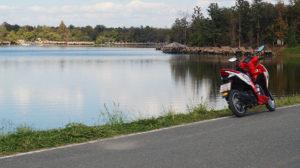 vue sur le lac de Huay Tang Tao