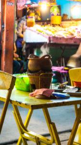 repas thailandais à Chiang Rai