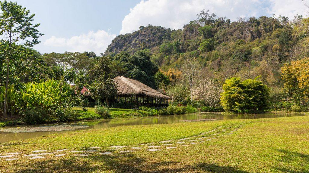 jardin botanique pha tad ke à luang prabang