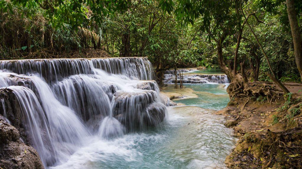 Cascades de Kuang Si Luang Prabang