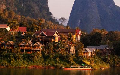 De Muang Khua à Luang Prabang, le long de la rivière Nam Ou