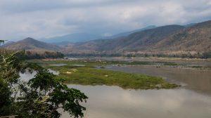 paysages bord du Mékong