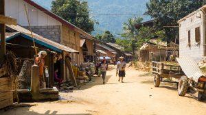 villages typique du Laos