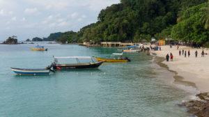main beach kapas island