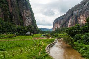 vallée harau près de bukittinggi