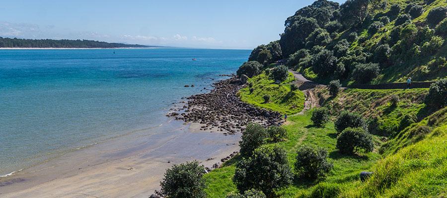 Carnet n°57 – Road Trip en NZ dans la Bay of Plenty : vers luisants, Hobbits et géothermie