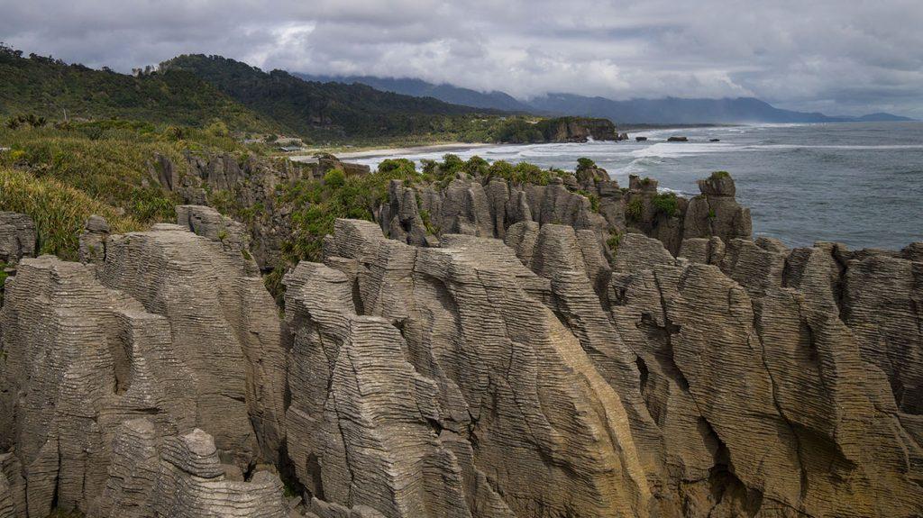 Pancake Rocks ile du sud nouvelle zélande