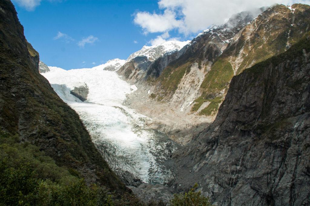 Franz Josef glacier ile du sud nouvelle zélande
