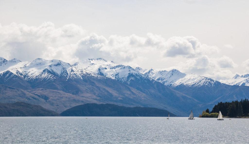 lac wanaka ile du sud nouvelle zélande