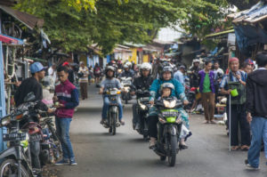 la circulation en indonésie