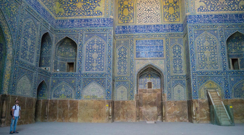 mosquée de l'imam ispahan