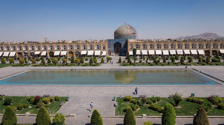 place de l'imam ispahan