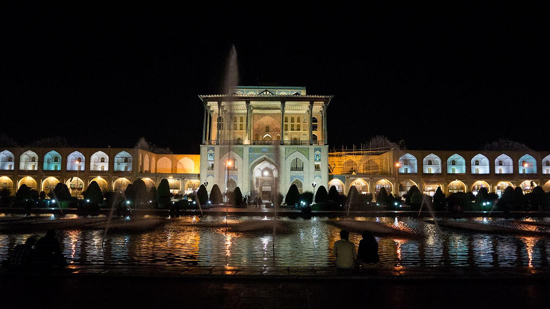 palais ali qapu ispahan